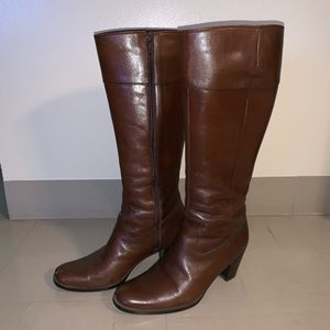 Leather boots Made in Japan